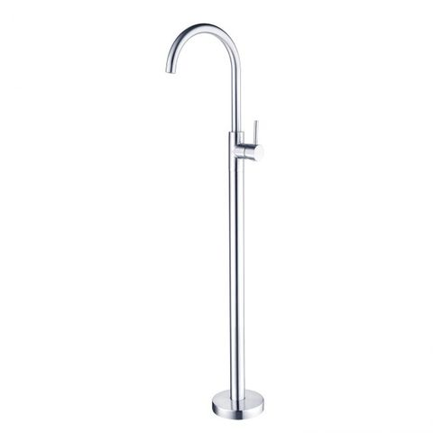 Dolce Floormount Bath Mixer Chrome