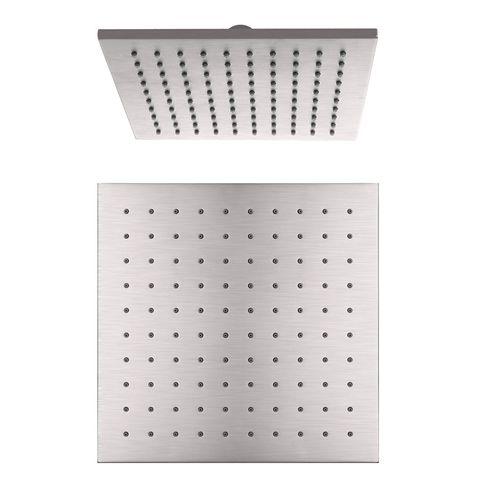 Square Shower Head 250mm BN