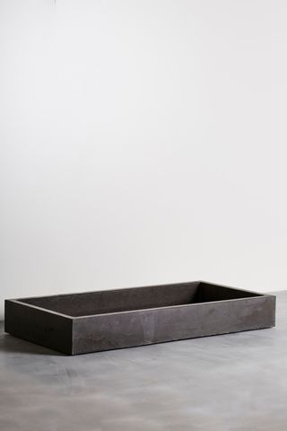 Concrete 1040mm Cube Vessel Sink Basin