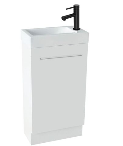 Aspen 460mm Mini Vanity Floor White
