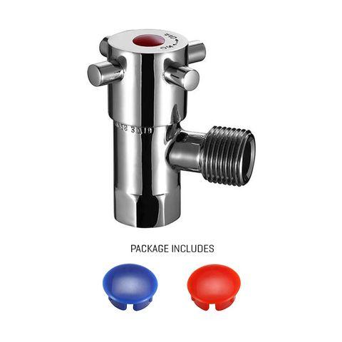 Ottawa 1/4 Turn Cistern Stop CeramicDisc