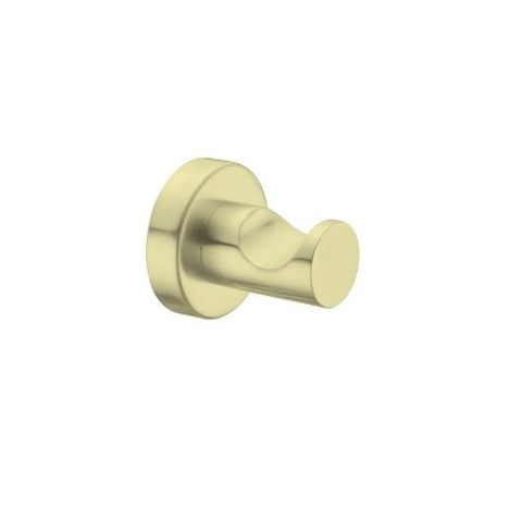 Mecca  Robe Hook Brushed Gold
