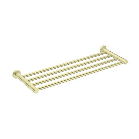 Mecca Towel Rack Brushed Gold