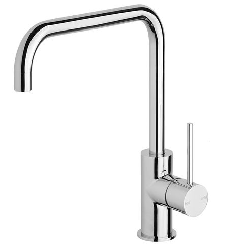 Vivid Slimlime Sink Mixer 220mm SQ