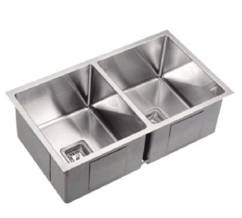 R10 Double Bowl Sink Top/Undermount 775