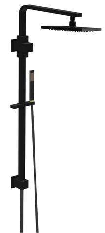 Jet Matte Blk MultiFunction Shower Rail