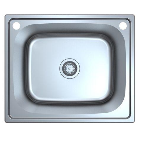 Otus 45L Drop in Laundry Sink w/bypass