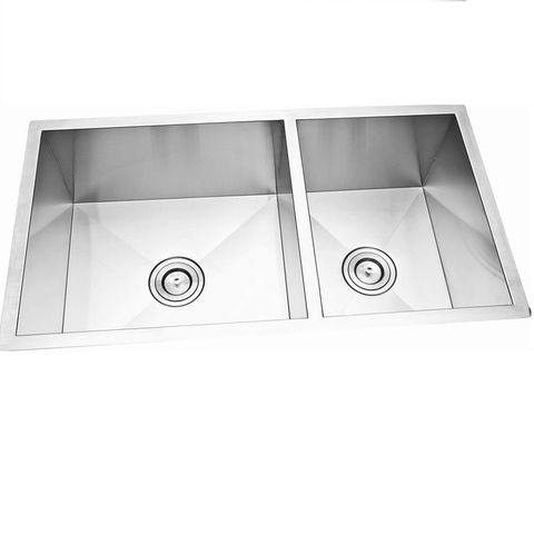 Cube 1 and 3/4 Sink Undermount SQ CNR