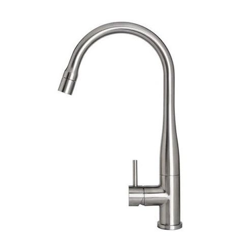 Elle Pull Out Sink Mixer Brushed