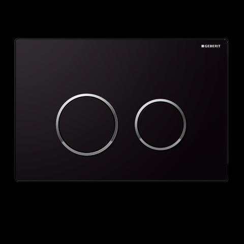 Geberit Sigma20 Flush Plate Black