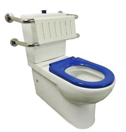 Linkcare Toilet Suite Blue Seat