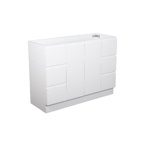 1200 Finger Pull CABINET ONLY on Kick