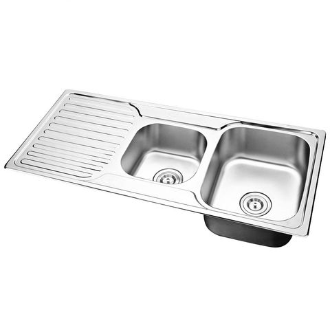 Mold 1 & 3/4 sink with Left Drain Plate