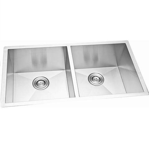 Cube Double Sink Undermount