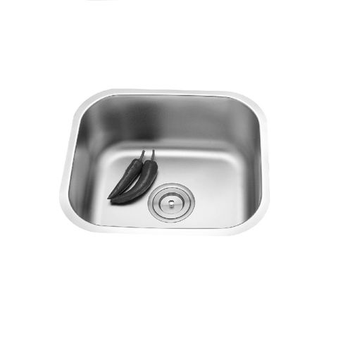 Mold Curved Single Sink Undermount