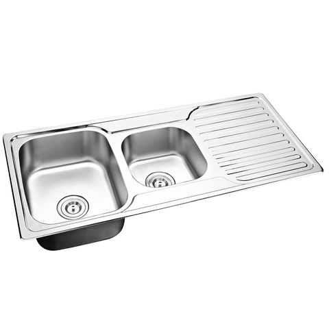Mold 1 & 3/4 sink with Right Drain Plate