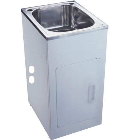 30L Laundry Tub and Cabinet 390x500mm
