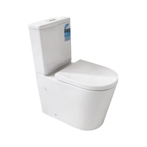 Aleppo Rimless Toilet Suite