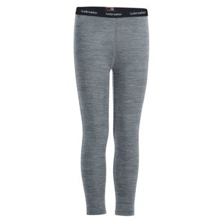 Icebreaker Kids 200 Oasis Leggings Gritstone Heather