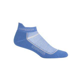 Icebreaker Mens Multisport Light Micro Sea Blue / Twister Heather