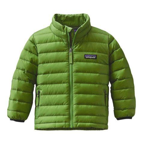 Patagonia Boys Down Sweater Green
