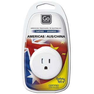 Go Travel Adaptor Americas - Aus / China Earthed