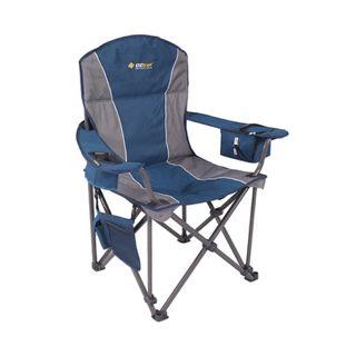 Oztrail Titan Arm Chair Blue
