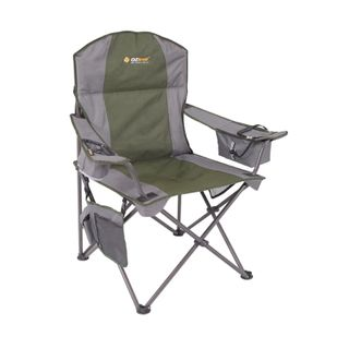 Oztrail Cooler Arm Chair Green
