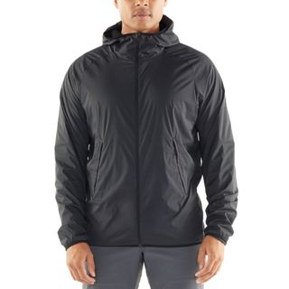 Icebreaker Coriolis 2 Hooded Windbreaker Black