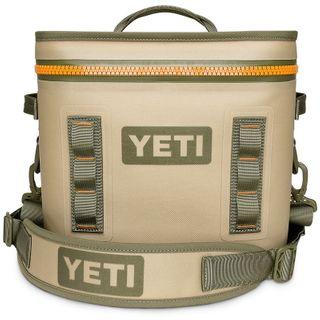 Yeti Hopper Flip 12 Soft Cooler Fog Gray / Tahoe Blue