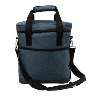 Karlstert Premium 3 Bottle Carrier Blue