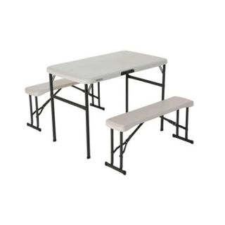 Lifetime Folding Picnic Table & Benches