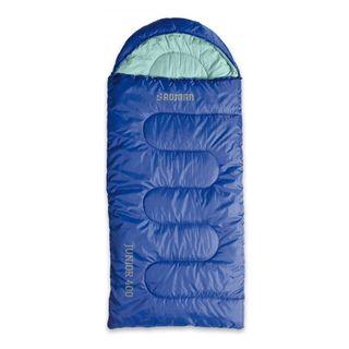 Roman Junior 400 Sleeping Bag 0 Deg Blue