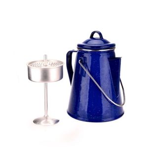Oztrail Enamel 8 Cup Coffee Pot Percolat