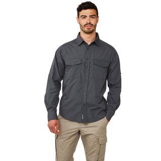 Craghoppers Kiwi Ls Shirt Ombre Blue