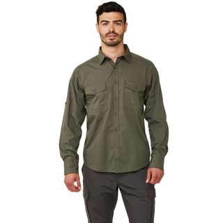 Craghoppers Kiwi Ls Shirt Cedar