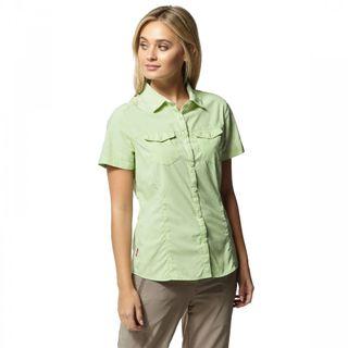 Craghoppers Nosilife Adventure Shirt Ss Pistachio