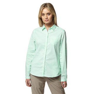 Craghoppers Verona Ls Shirt Bush Green
