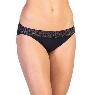 Exofficio Lacy Low Rise Bikini Travwel Underwear Black