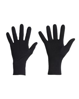 Icebreaker Unisex 260 Tech Glove Liners Black