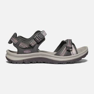 Keen Terradora Open Toe Sandal Grey / Dawn Pink