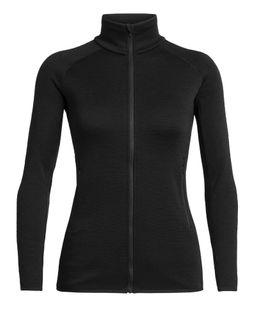 Icebreaker Women's Elemental Long Sleeve Zip Black