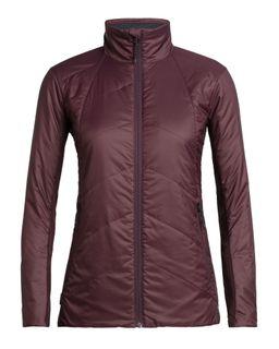 Icebreaker Women's Merinoloft Helix Jacket Velvet