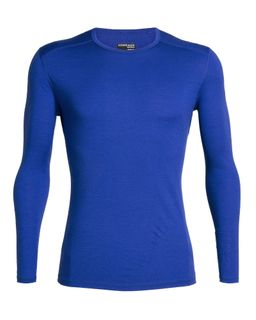 Icebreaker Men's 200 Oasis Long Sleeve Crewe Surf