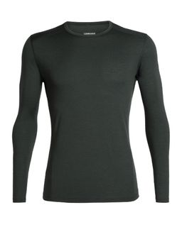 Icebreaker Men's 200 Oasis Long Sleeve Crewe Forestwood