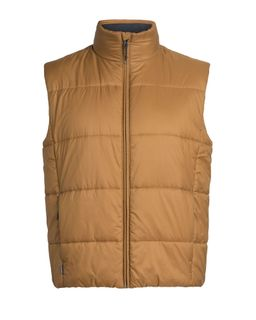 Icebreaker Men's Collingwood Vest Tawny