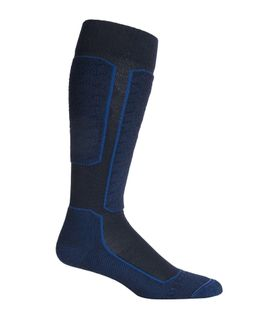 Icebreaker Men's Ski+ Lite Over The Calf Slopes Midnight Navy