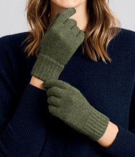 Merino Snug Carrum St Glove Olive