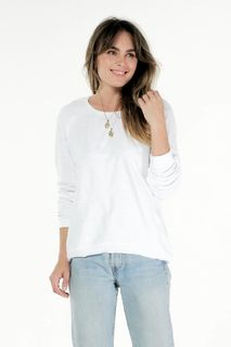 Cle W Lucy Sweater White S