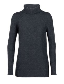 Ice W Waypoint Roll Sweater Chh